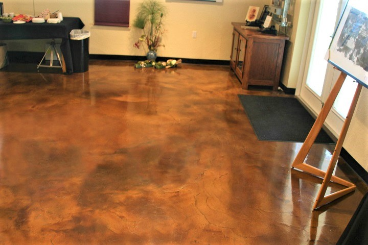 acid concrete stain denver