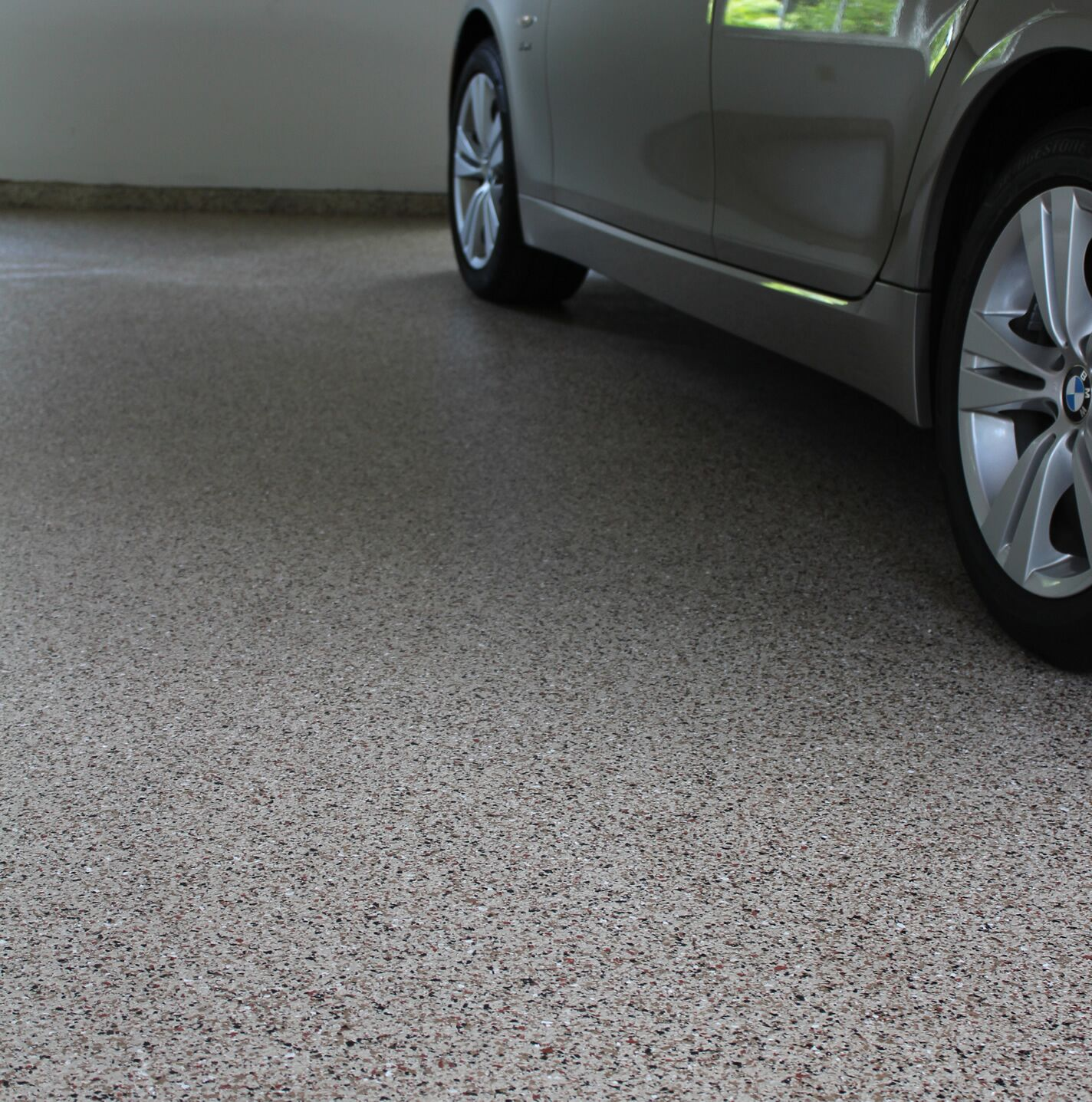 chip garage floor with epoxy denver