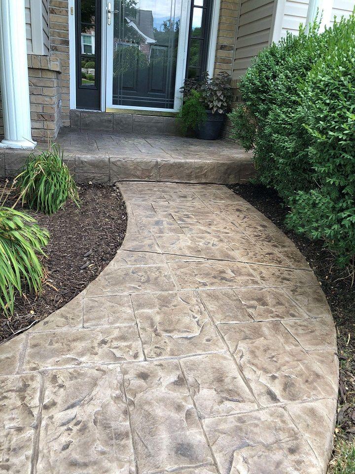 concrete walkways denver