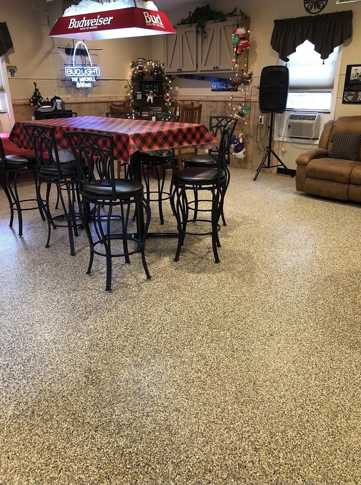 epoxy flooring garage denver