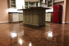 concrete floor stain denver