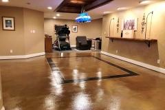 stained concrete floors denver