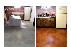staining concrete floors denver