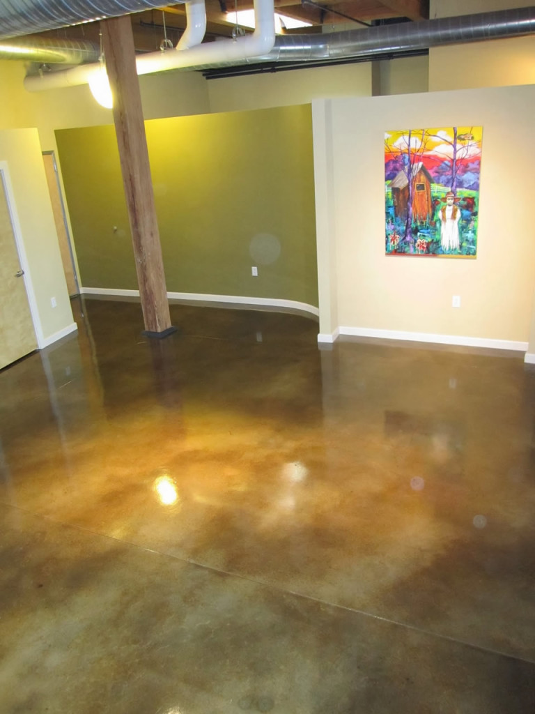 interior floor acid stain denver