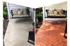 colored concrete patio denver