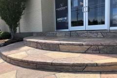 colored concrete patio installer denver