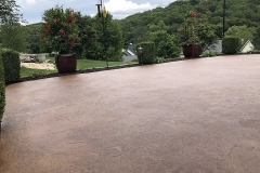 stain concrete patio denver