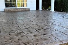 stained concrete patio denver