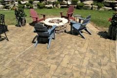stamped concrete patio denver
