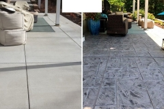 stamped concrete patio installation denver