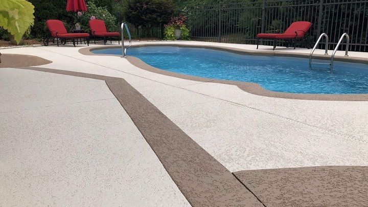 Concrete Pool Deck Projects