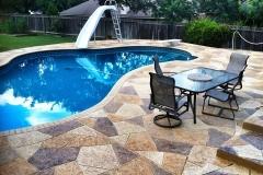 concrete pool deck ideas denver