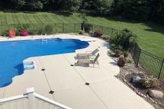 spray finished pool deck denver