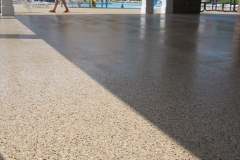 concrete pool deck with epoxy denver
