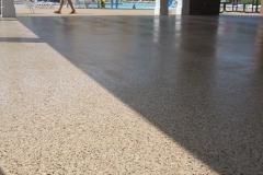 concrete pool deck with epoxy denver