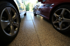 garage floor with easy to clean epoxy denver