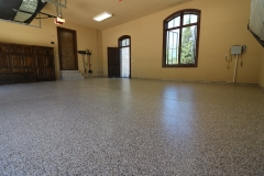garage floor with epoxy coatings denver