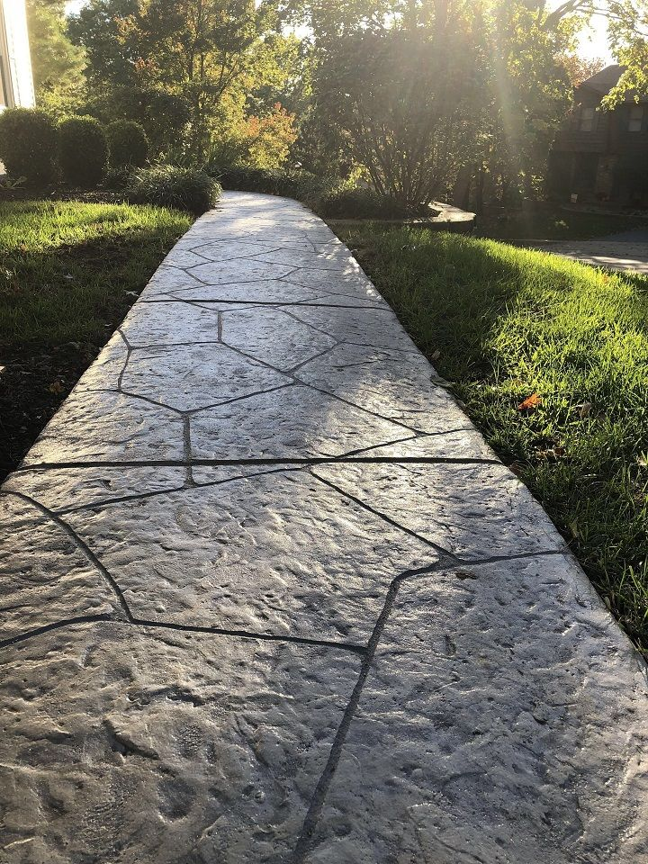 walkway stamped overlays denver