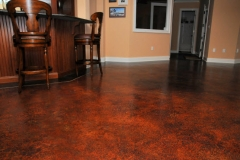 stained concrete floor denver