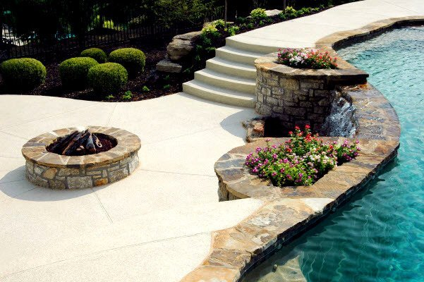 concrete pool deck denver